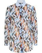 Carven Printed Cotton Shirt - Lyst