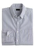 J.Crew Tall Seersucker Shirt In Rustic Blue Stripe - Lyst
