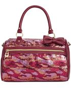 Betsey Johnson Macys Exclusive Satchel - Lyst