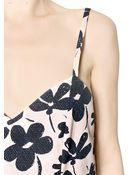 Marni Floral Cotton Poplin Dress - Lyst