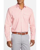 Cutter & Buck 'St. Ives' Classic Fit Long Sleeve Check Sport Shirt - Lyst