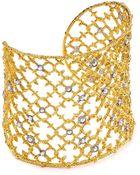 Alexis Bittar Elements Crystal Studded Spur Cuff - Lyst