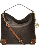 Michael Kors Michael Serena Large Shoulder Bag - Lyst