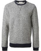 Oliver Spencer Reverse Crew Neck Sweatshirt - Lyst