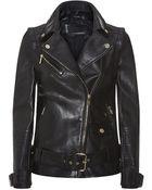 Karl Lagerfeld Holly Oversized Biker Jacket - Lyst