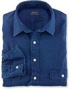 Polo Ralph Lauren Big And Tall Chambray Shirt - Lyst
