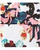 Erdem Bunty Printed Silk Dress - Lyst