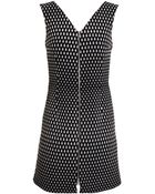 Trager Delaney Textured Cut-Out Dress - Lyst
