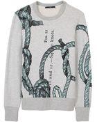 Tibi Rope Sweatshirt - Lyst