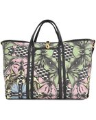 Misa Harada Lily Cubes Coated Canvas Tote - Lyst