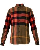 Burberry Brit Holmes Exploded Check Cotton Shirt - Lyst