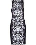 Nicole Miller Sheath Dress - Lyst