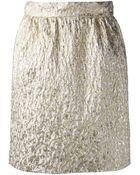 Dolce & Gabbana Embroidered Skirt - Lyst