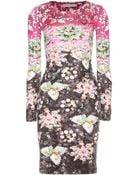Mary Katrantzou Pinkimon Printed Silkjersey Dress - Lyst