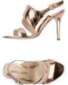 Enrico Lugani High-Heeled Sandals - Lyst