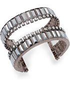 Inc International Concepts Crystal Open Cuff Bracelet - Lyst
