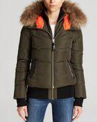 Mackage Fur Trim Romane Lavish Jacket - Lyst