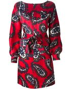 DSquared² Paisley Print Dress - Lyst