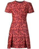 Erdem Rose Jacquard Dress - Lyst