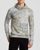 Scotch & Soda Twisted Hood Sweatshirt - Lyst