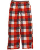 Calvin Klein Fleece Pajama Pants - Lyst
