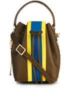 Sophie Hulme Mini Leather Bucket Bag - Lyst