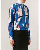 Cedric Charlier Print Pullover Sweatshirt - Lyst