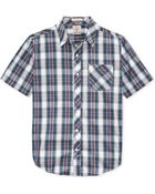 Volcom Weirdoh Plaid Short Sleeve Woven Shirt - Lyst