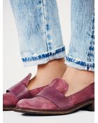 Free People Merit Loafer Slip Ons - Lyst