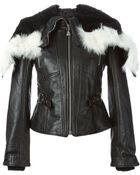McQ by Alexander McQueen Hooded Fitted Jacket - Lyst