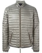 Duvetica Silver Padded Jacket - Lyst