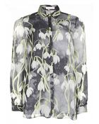 Matthew Williamson Snowdrop Silk Chiffon Shirt - Lyst