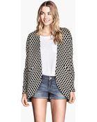 H&M Jersey Jacket - Lyst