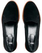 Asos Mobster Suede Slippers - Lyst
