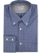 Brunello Cucinelli Madras-checked Regular-fit Single-cuff Shirt - Lyst