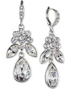 Givenchy Crystal Large Drop Earrings - Lyst