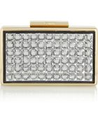 Lanvin Crystal Box Clutch - Lyst