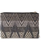 Forever 21 Tribal-Inspired Embroidered Clutch - Lyst