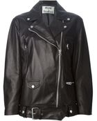 Acne Studios 'Swift' Biker Jacket - Lyst