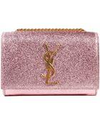 Saint Laurent Handbag Monogramme Laminate Crossbody - Lyst