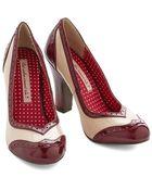Bait Footwear/nine Eight Nine Editor'S Choice Heel In Wine - Lyst