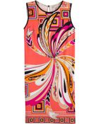 Emilio Pucci Silk-Jersey Printed Farfalla Dress - Lyst