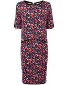 Oasis Painted Print 2 In 1 Dress - Lyst