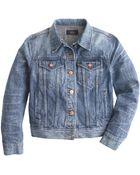J.Crew Petite Denim Jacket In Tyler Wash - Lyst