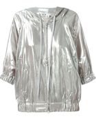 Y-3 Metallic Hooded Sport Jacket - Lyst