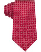 Tommy Hilfiger Red Circle Neats Tie - Lyst