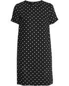 H&M Short-Sleeved Dress - Lyst
