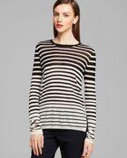 Vince Sweater - Stripe - Lyst