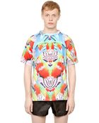 Marcelo Burlon Cotton Jersey Exotic Fish T-Shirt - Lyst