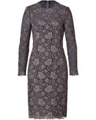 Valentino Guipure Lace Cocktail Dress - Lyst